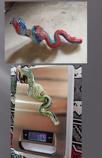 Glass Snake Smoking Pipes