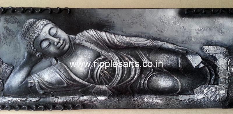 3D Buddha Mural
