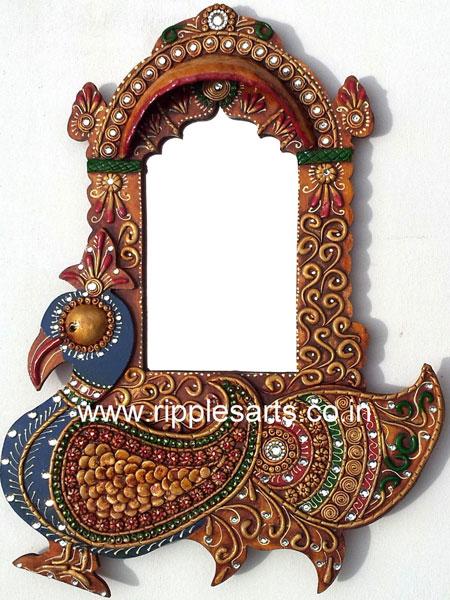 Ethnic Mirror Frame
