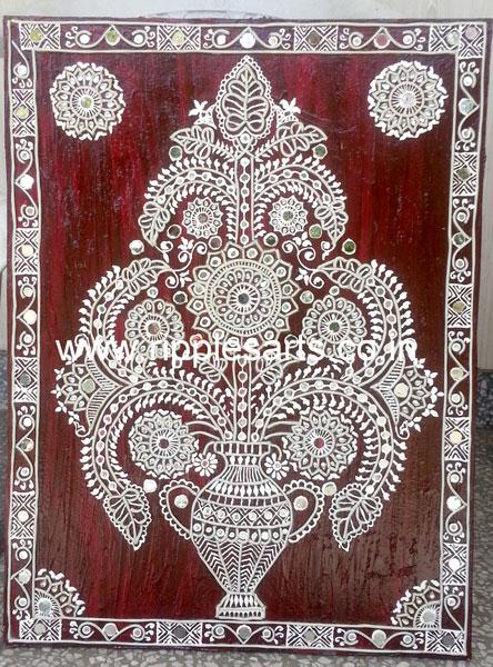 Gujrati Mural Painting