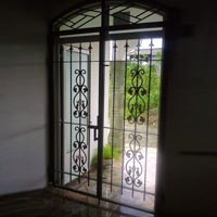 Steel Entry Gates