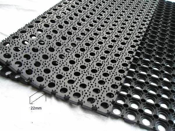 Rubber Hollow Mat