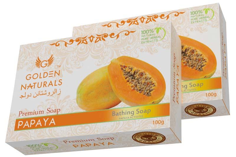 Golden Naturals Papaya Soap