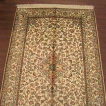 Staple Silk Carpet (4X2.5)