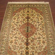 Staple Silk Carpet (4X6)