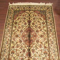 Staple Silk Carpet (5X3)