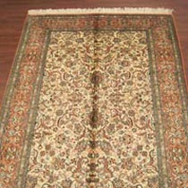 Staple Silk Carpet (6X4)