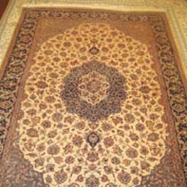 Wool Silk Carpet (4.5x7)