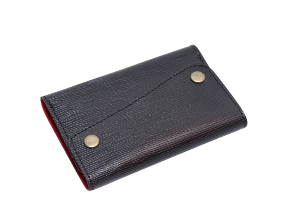Leather Card Case (CH-759-Black)