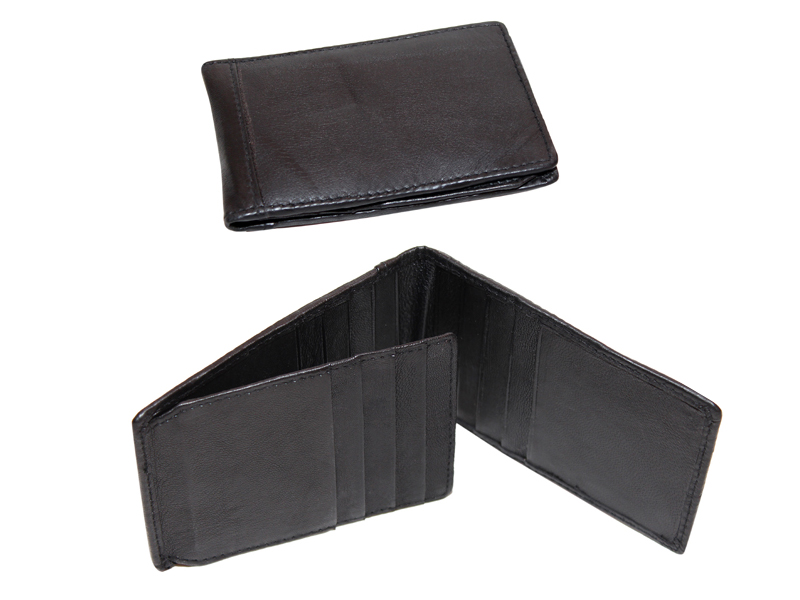 Leather Card Case  (CH-771-Black)
