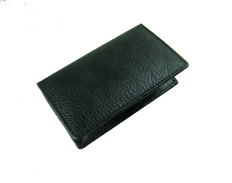 Leather Card Case (CH-774-Black (1))