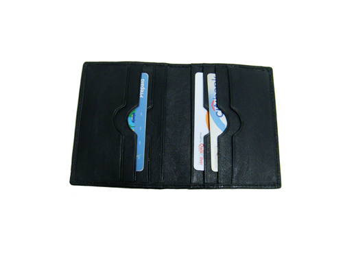Leather Card Case (CH-775-Black (1))