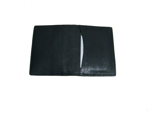 Leather Card Case (CH-775-Black (2))