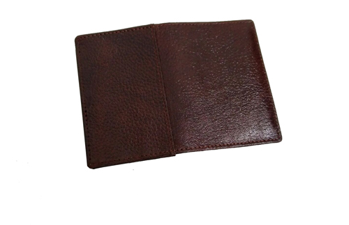 Leather Card Case (CH-776-Maroon (1))