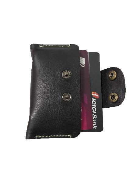 Leather Card Case (CH-777-Black)