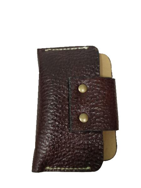 Leather Card Case (CH-777-Brown)