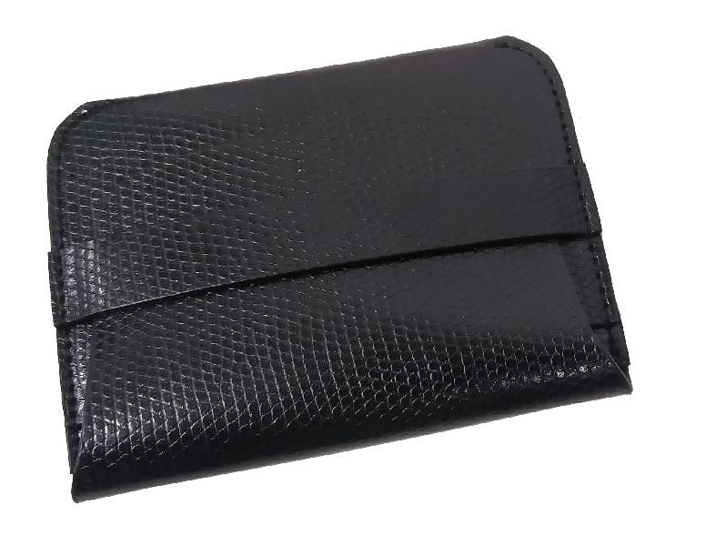 Leather Card Case (CH-782-Black)