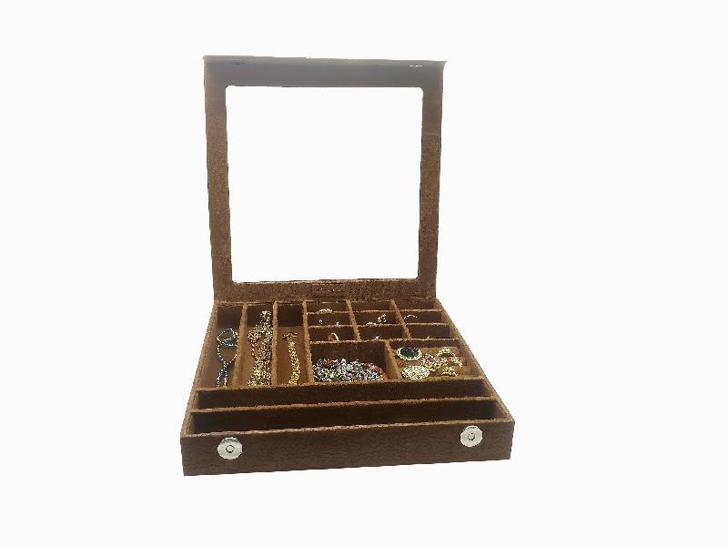 Jewellery Box (10081-Tan:Brown)