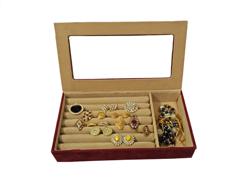 Jewellery Box (CF-75-Maroon)