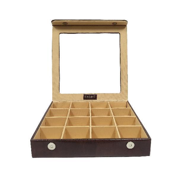 Jewellery Box (JW-10080-Snakebit Brown)
