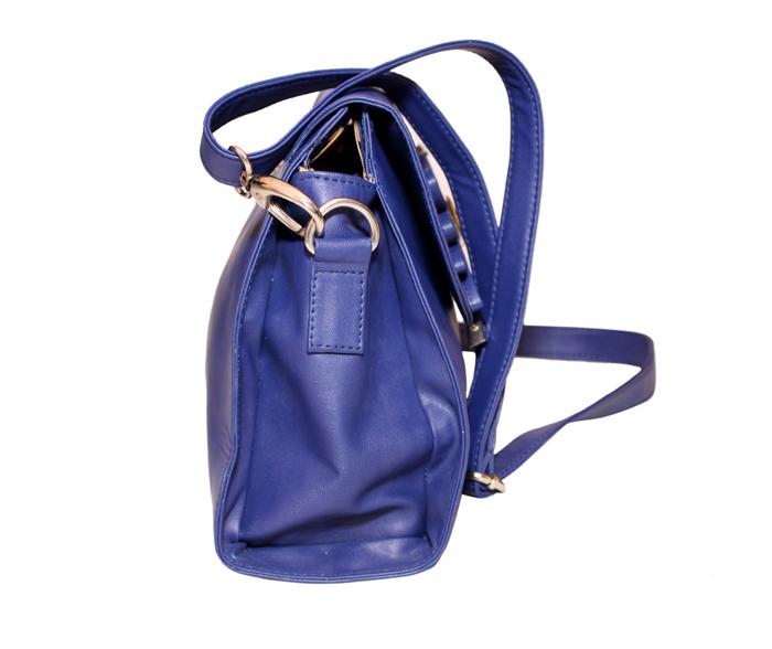Ladies Hand Bag (71173-Blue)