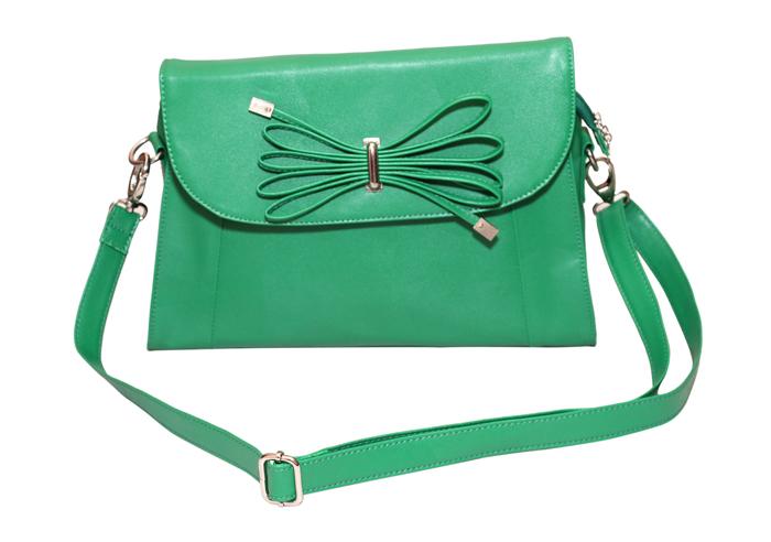 Ladies Hand Bag (71173-Green)