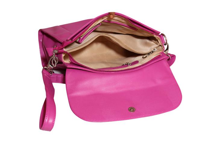 Ladies Hand Bag (71173-Pink)