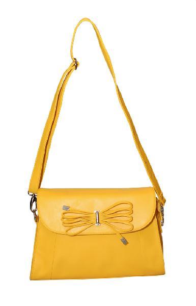 Ladies Hand Bag (71173-Yellow)