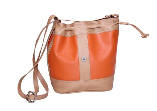 Ladies Hand Bag (71174-Orange)