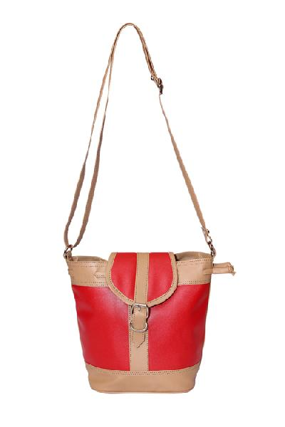 Ladies Hand Bag (71174-Red)