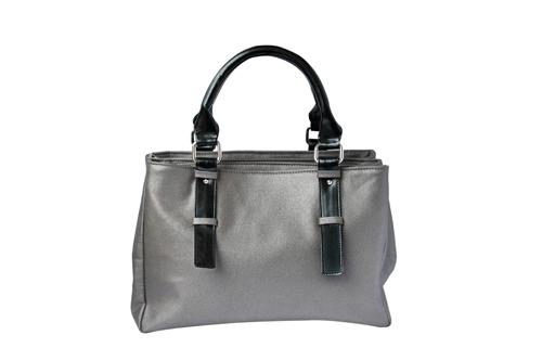 Ladies Hand Bag (71176-Silver)