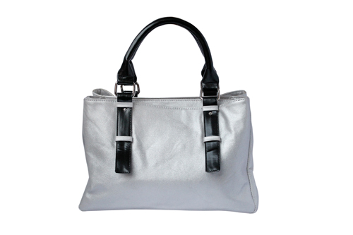 Ladies Hand Bag (71176-White)