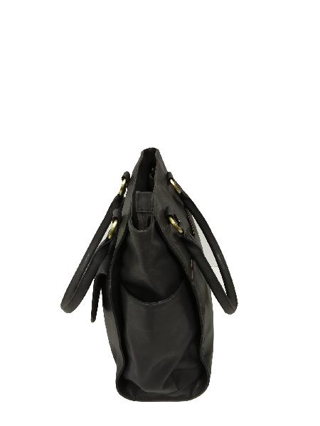 Ladies Hand Bag (71178-Black)