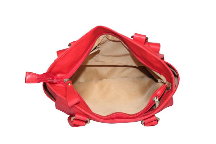 Ladies Hand Bag (71178-Red)
