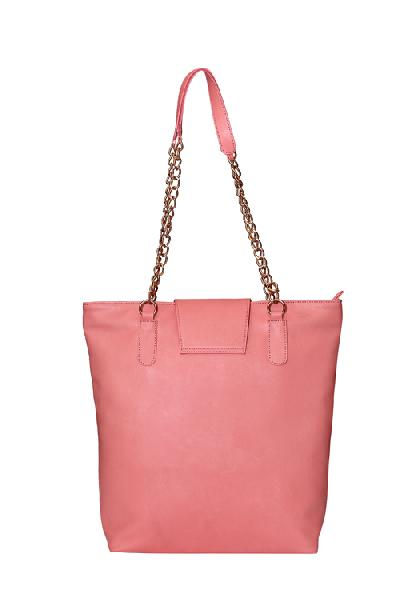 Ladies Hand Bag (71182-Peach)