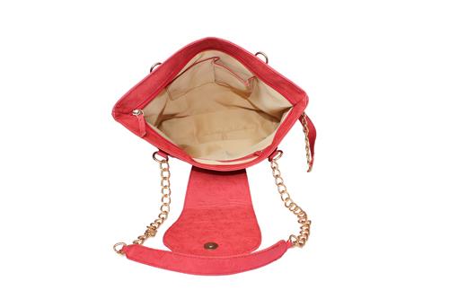 Ladies Hand Bag (71182-Red)