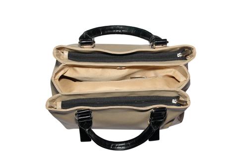 Ladies Hand Bag (71186-Golden)