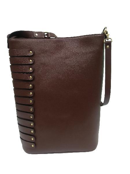 Ladies Hand Bag (71188-Brown )