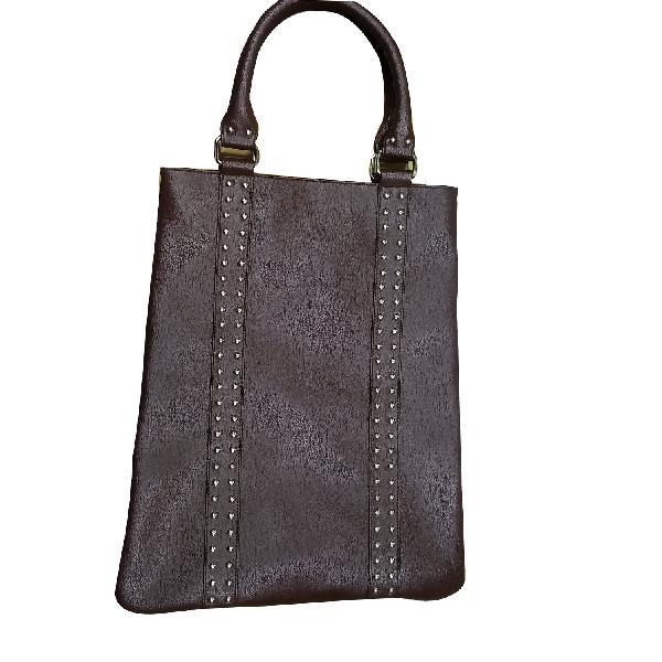 Ladies Hand Bag (71189-Brown-2)