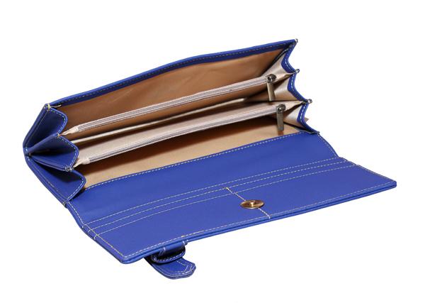 Ladies Wallet (LW-1839-Blue)