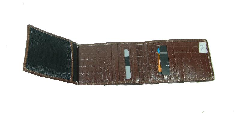 Leather Card Case (CH-748-Brown (2))