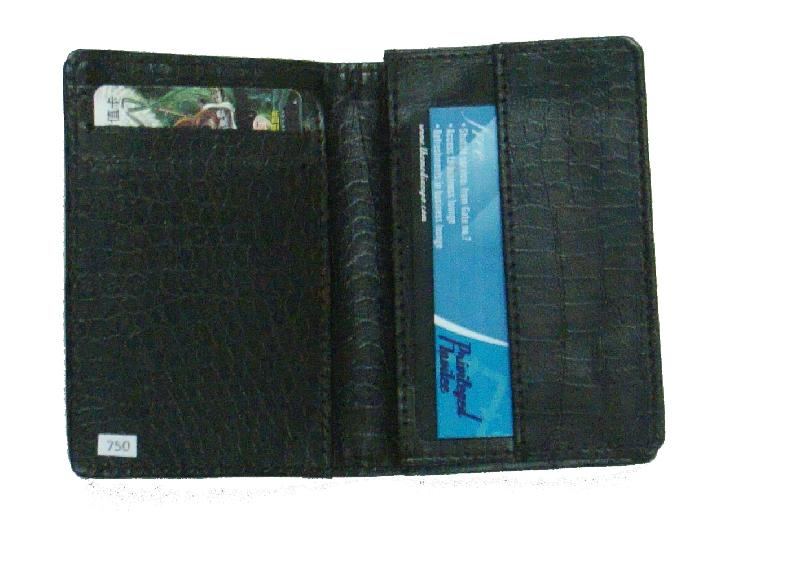 Leather Card Case (CH-750-Black)