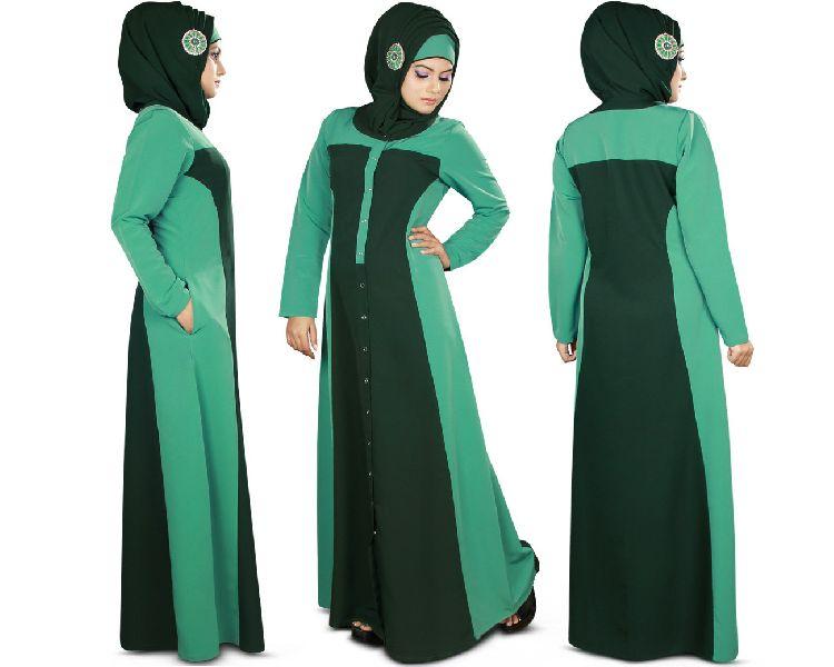Muslim Burka Gown 01