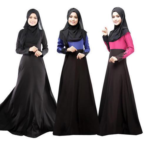 Muslim Burka Gown 02