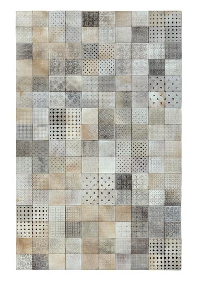 AM-793 Leather Hair On Carpet-Patches-Embossed