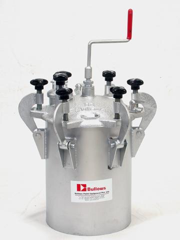 22 LTR Pressure Feed Tank