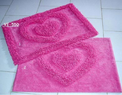 Cotton Tufted Bath Mat 03