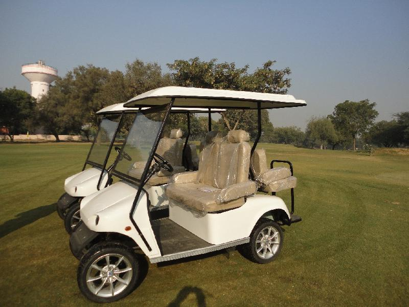 4 Seater (2 Front + 2 Back) Golf Cart