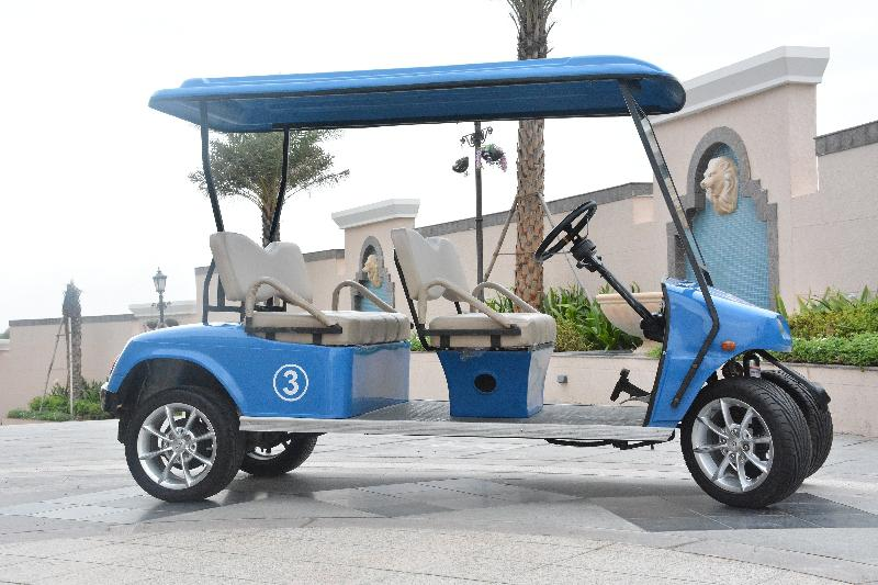 4 Seater (All Front) Golf Cart