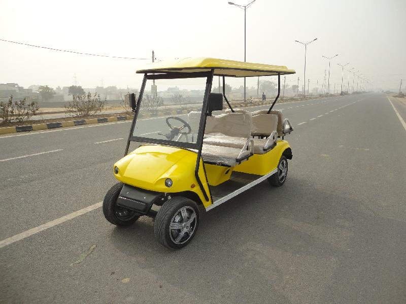 6 Seater (2 Front+2 Back) Golf Cart